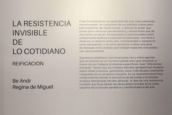 La Resistencia Invisible de lo Cotidiano I: Reificación