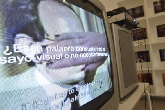 Cine de palabras/Cine de imágenes, David Cantarero