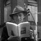 Jonas Mekas in Anthology Film Archive