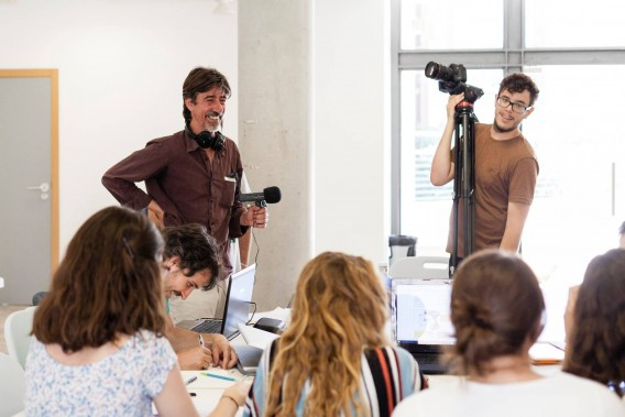 Taller Transforma: Cinema per vindre