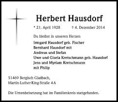 Herbert Hausdorf