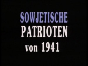 Sowjetische Patrioten von 1941