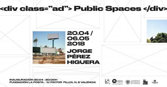 Public spaces, Jorge Pérez Higuera