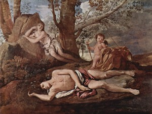 Echo and Narcissus (1630)