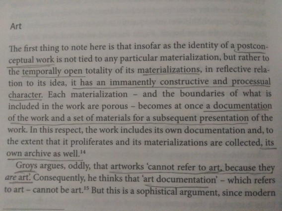 "Peter Osborne, ""Archive as Afterlife and Life of Art"""