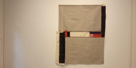 Teresa Lanceta, Sur (2004) de la serie Pinturas cosidas
