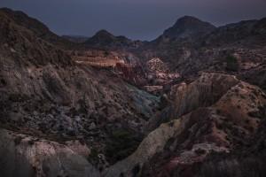 Badlands (baldías) valle del Montnegre. Foto Miguel Lorenzo
