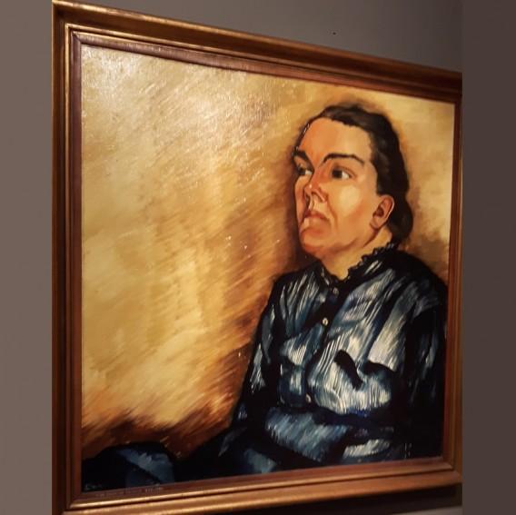 Zieke vrouw, 1924-25