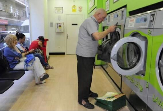 Lavandería pública