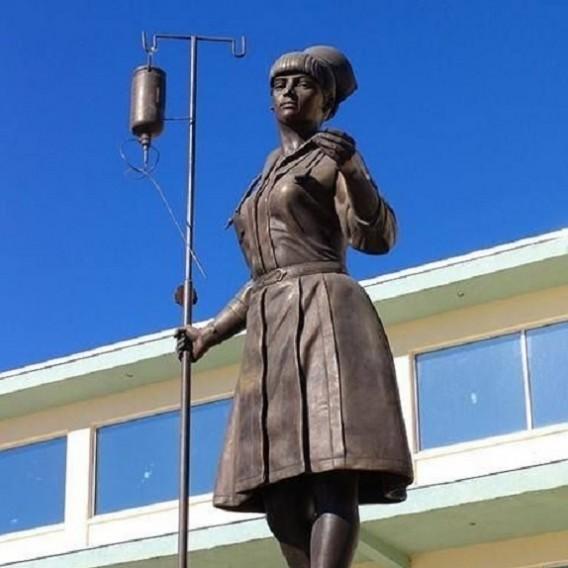 Monumento a la enfermera, Ciudad Juarez, Hospital General