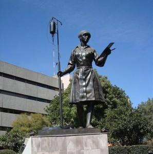 Monumento a la enfermera, México D.F.