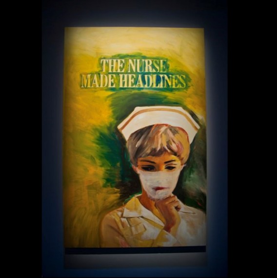 The Nurse Made Headlines (2005), Richard Prince