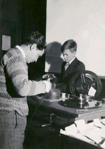 con Joris Ivens trabajando en Rains 1927-1928